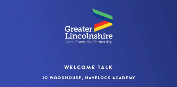 Welcome talk from Jo Woodhouse, Havelock Academy