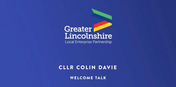 Welcome Talk - Cllr Colin Davie