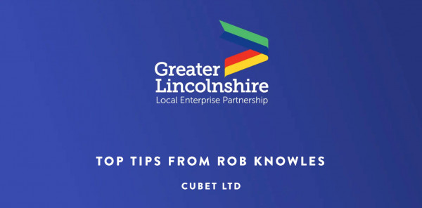 Top Tips from Rob Knowles