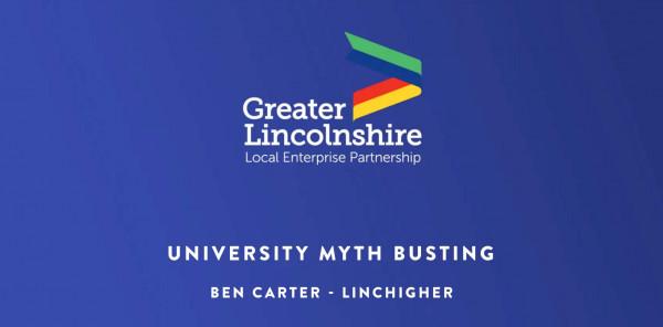 University Myth Busting from Ben Carter