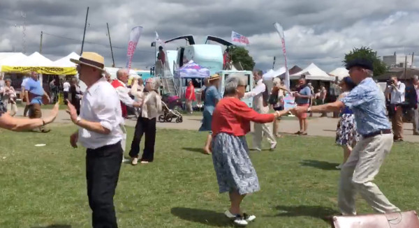 Smoke & Mirrors Swing Dance Group at the Lincolnshire Show image